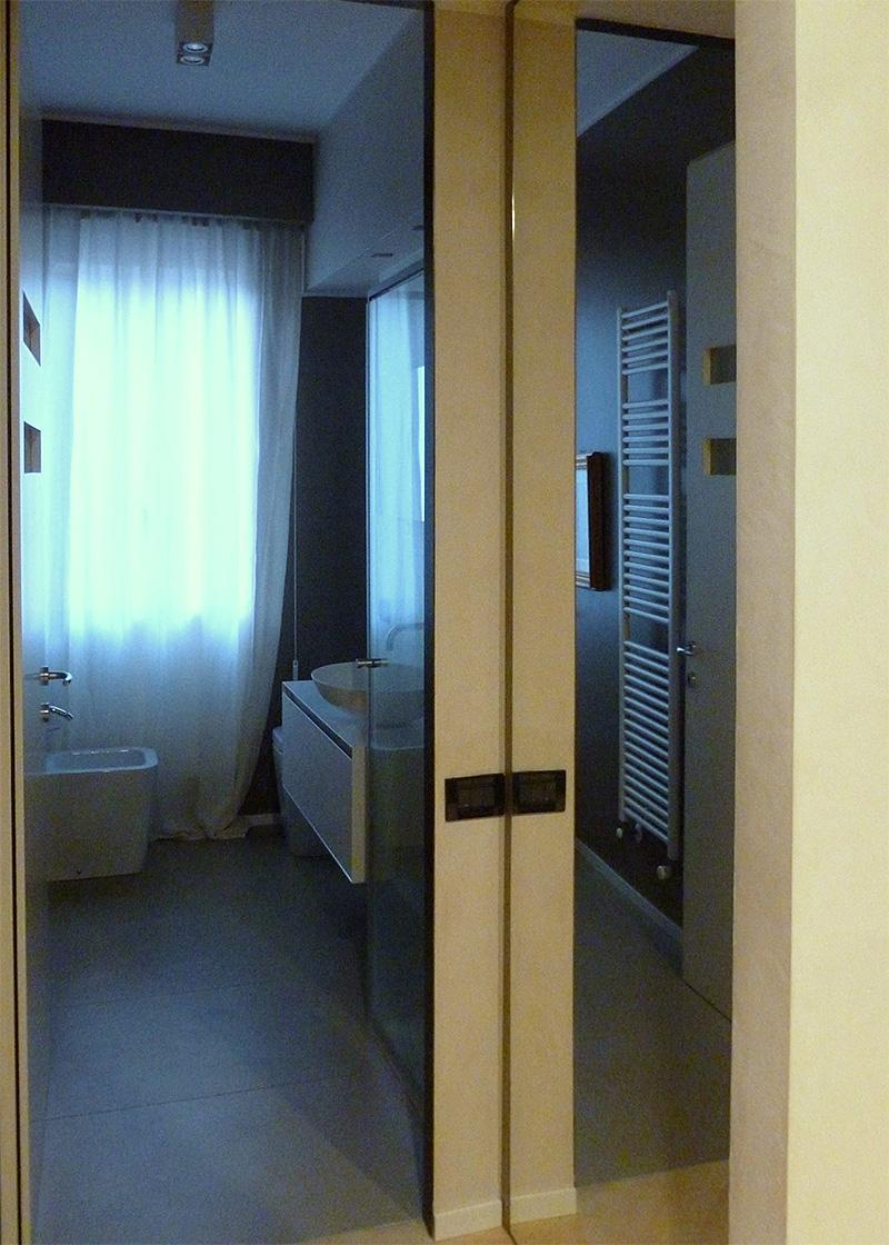 Bagno in camera parete vetro : bagno in camera parete vetrocemento ...