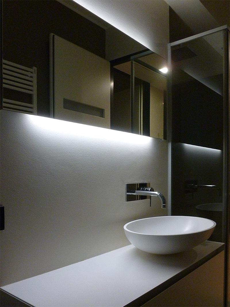 Interventi di interior design e disegno arredi nella casa privata SL House 1