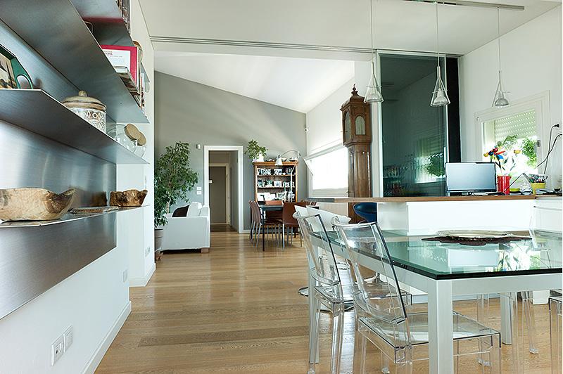 Cucine A Vista Sul Soggiorno ~ Ispirazione Per La Casa
